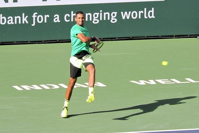 ATP IW: forfait Kyrgios, niente sfida con Federer