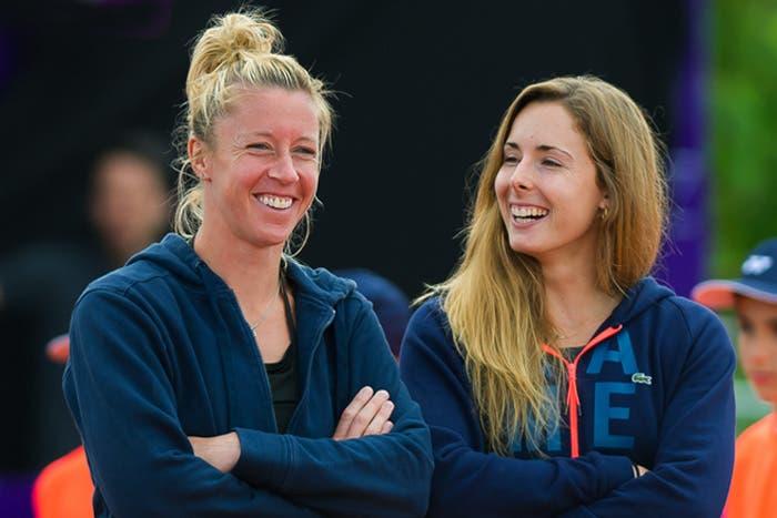 Pauline Parmentier e Alizè Cornet: il tennis agli opposti