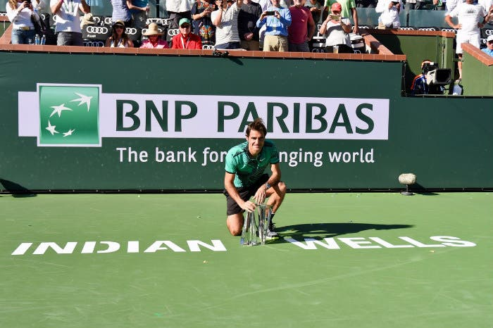 ATP IW: il pokerissimo di Roger Federer