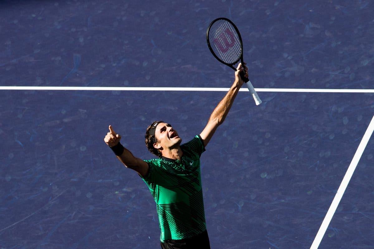 """Indian Wells, Federer: """"La favola del mio ritorno continua"""""""