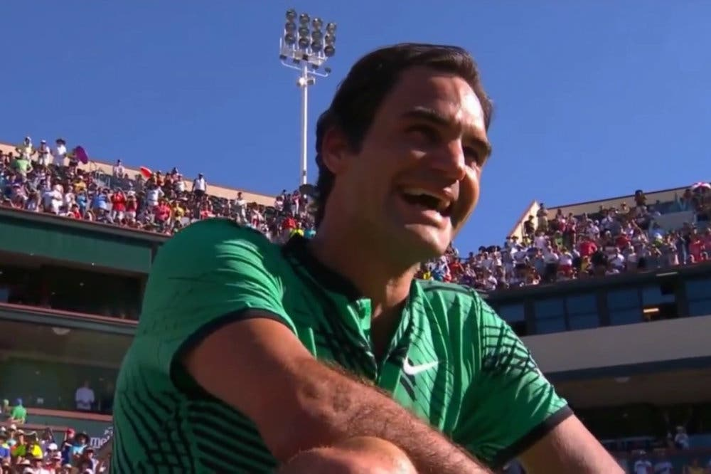 """Wawrinka in lacrime a Federer: """"Sei uno st…zo!"""". E Roger se la ride [VIDEO]"""