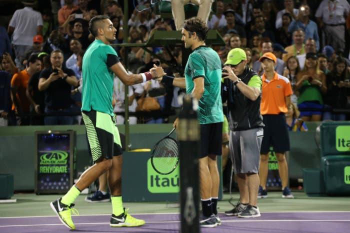 Nick Kyrgios batte Roger Federer… secondo Forbes