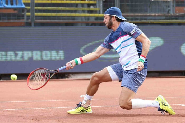 ATP Budapest: Lorenzi vince, Fognini delude