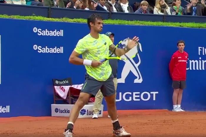 ATP Barcellona: che angolo Rafa! Dutra Silva rimane di stucco