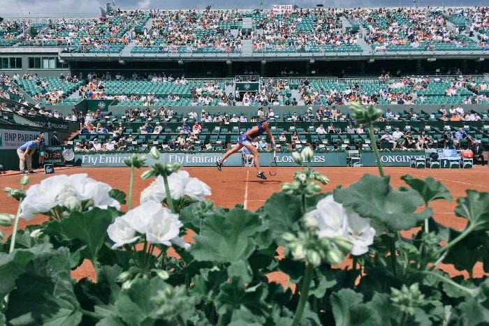 Roland Garros inside con l'incubo della palpation