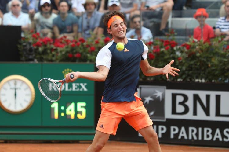 ATP Roma: buona la terza, Thiem batte Rafa