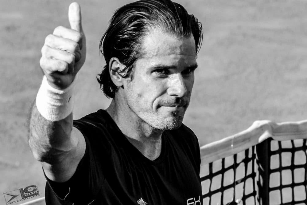 ATP Kitzbuhel: in attesa di Lorenzi e Fognini, c'è Haas in allenamento