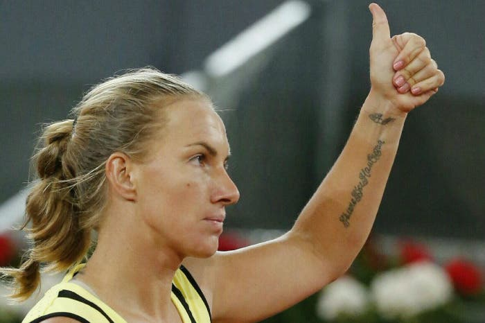 Intervento al polso sinistro per Svetlana Kuznetsova