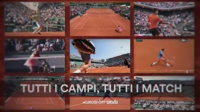 TV e Rete: Eurosport, un Roland Garros da sogno