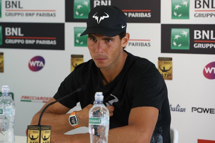 """Roma, Nadal: """"Thiem il giocatore con più probabilità di successo su terra"""""""