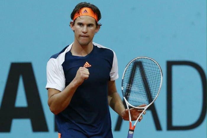 ATP Madrid: Thiem batte l'orologio, prima finale in un 1000