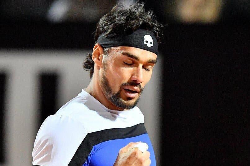 """ATP Roma, Fognini: """"Una delle mie tre vittorie più belle"""""""