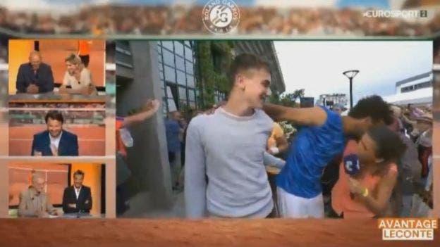 """Hamou """"corteggia"""" giornalista e il Roland Garros gli ritira l'accredito [VIDEO]"""