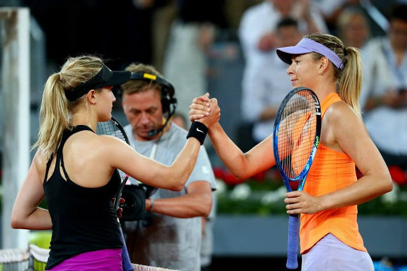 Bouchard non ritratta le accuse a Sharapova