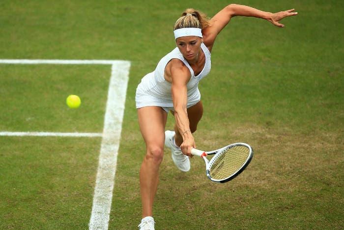 WTA Eastbourne: Giorgi dura troppo poco, avanza Wozniacki