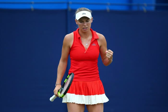 WTA Eastbourne: Wozniacki in volata su Watson. Sfiderà Pliskova