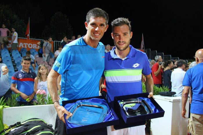 Mondo Challenger: Cecchinato dura un set, a Todi vince Delbonis