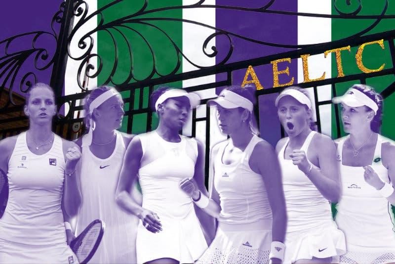 La guida a Wimbledon femminile