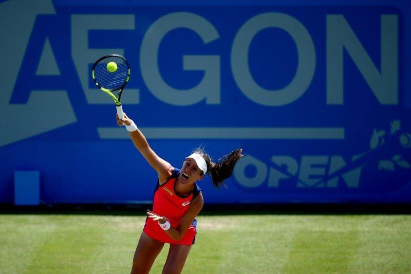 WTA Nottingham: Konta come un treno, Safarova supera Pironkova