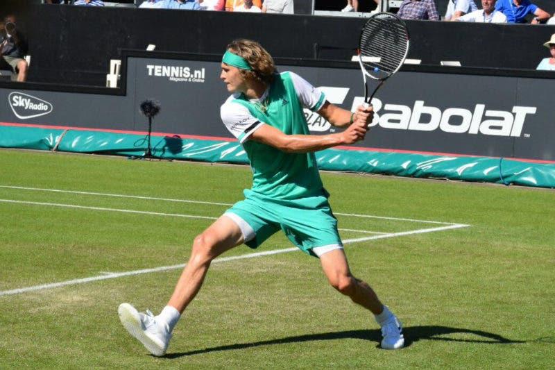 Sascha Zverev si lega al torneo di Halle fino al 2020