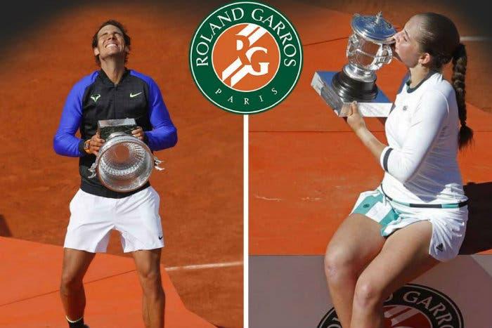 RG Pagelle: Ostapenko sboccia, Nadal rifiorisce