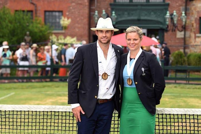 Hall Of Fame: Andy Roddick e Kim Clijsters tra gli immortali