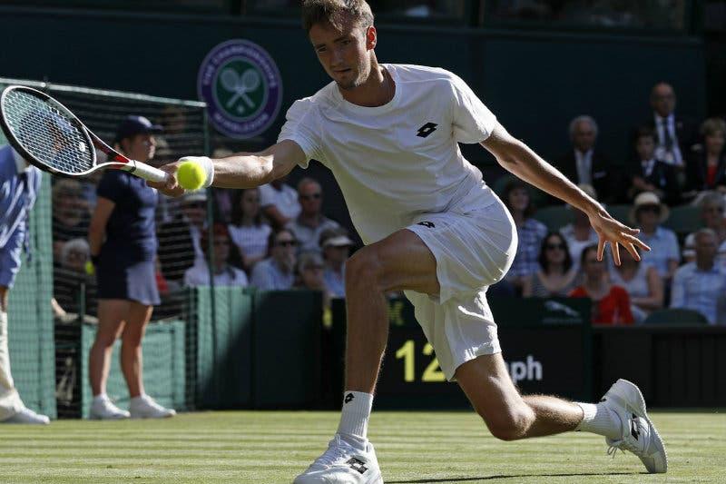 Wimbledon: Medvedev fa fuori Wawrinka. Nadal e Murray facili