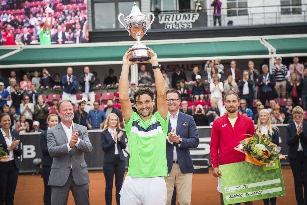 ATP Bastad: Ferrer torna al successo, 27° titolo in carriera