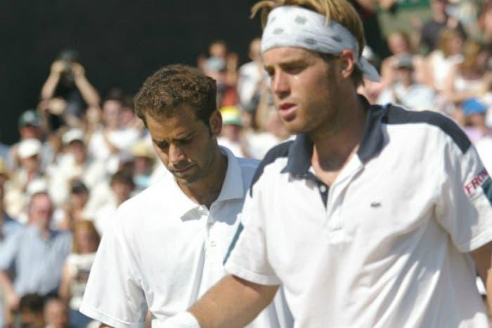Mercoledì da leoni: George Bastl a Wimbledon 2002