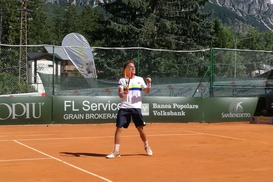 ATP Challeger Cortina: Carballes Baena travolge Gerald Melzer