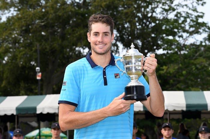 ATP Newport: terzo sigillo per John Isner