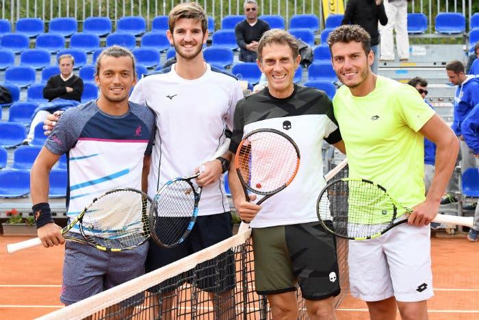 ATP Challenger Cortina: per Meloccaro un game all'esordio