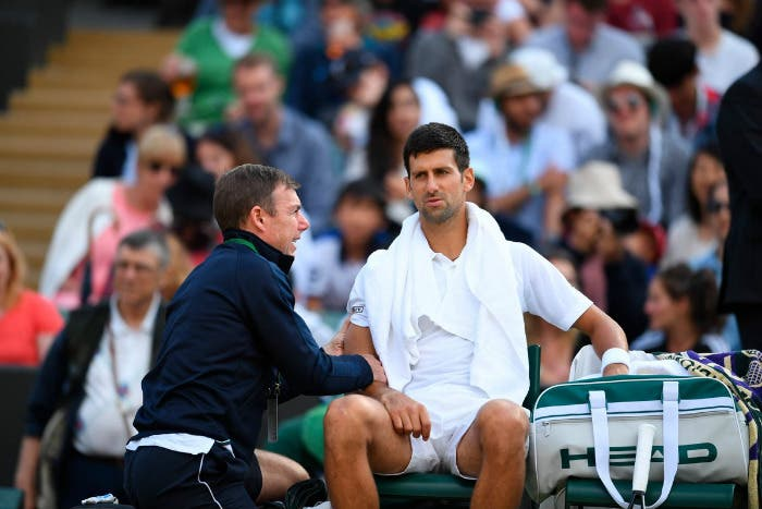 Djokovic è tornato ad impugnare la racchetta [VIDEO]