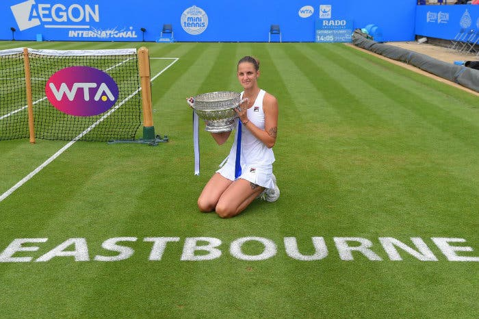 WTA Eastbourne: Pliskova, trionfo con vista su Londra