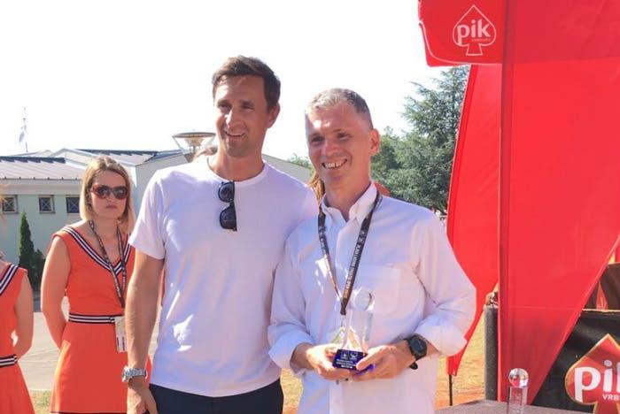 ATP Umago: il nostro Ilvio Vidovich vince il torneo dei giornalisti