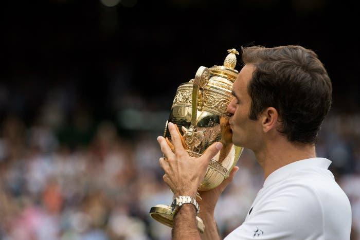 Wimbledon: 8 volte Roger Federer