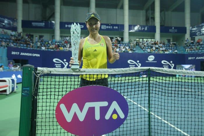 WTA Nanchang: Shuai Peng domina il torneo dimenticato