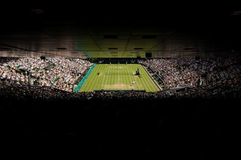 Com'è cambiato il palcoscenico, nel Teatro del Tennis di Wimbledon