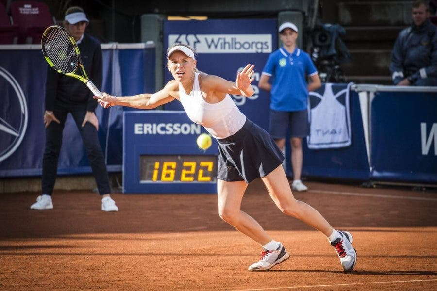 WTA Bastad: Wozniacki sfiderà Siniakova per il titolo