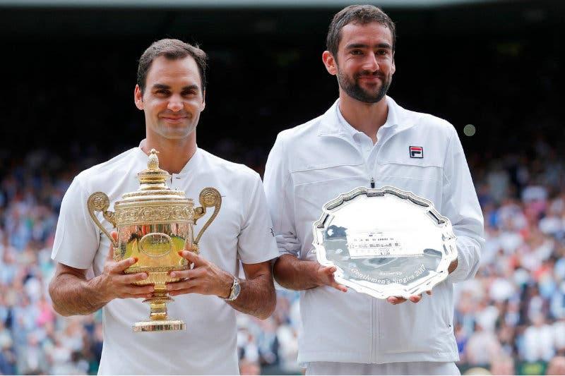Wimbledon numeri: il dominio discreto di Federer su Cilic
