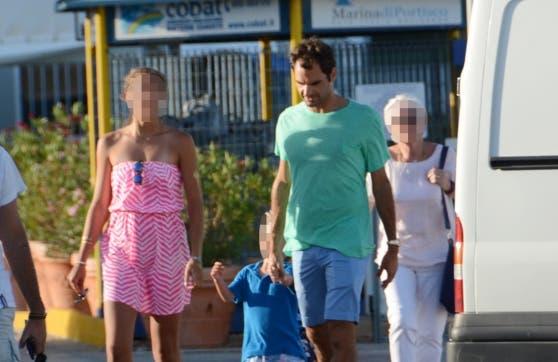 Federer, il relax post-Wimbledon è in Sardegna