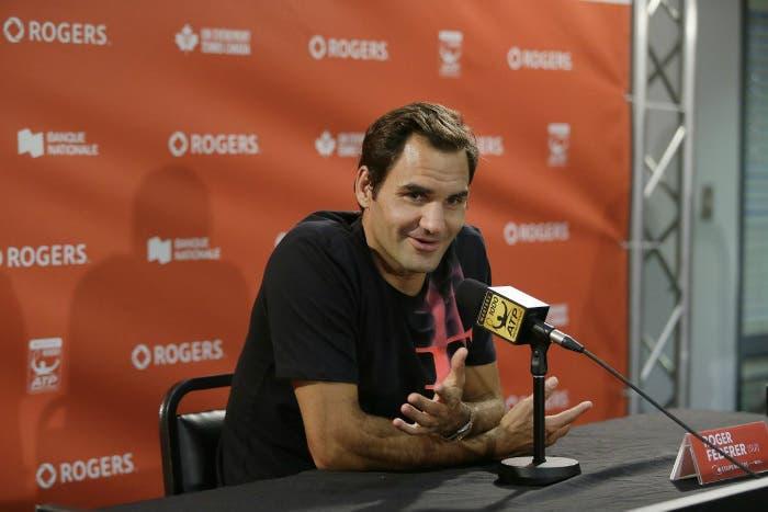 "Federer: ""In partita mai dispiacersi per l'avversario"""