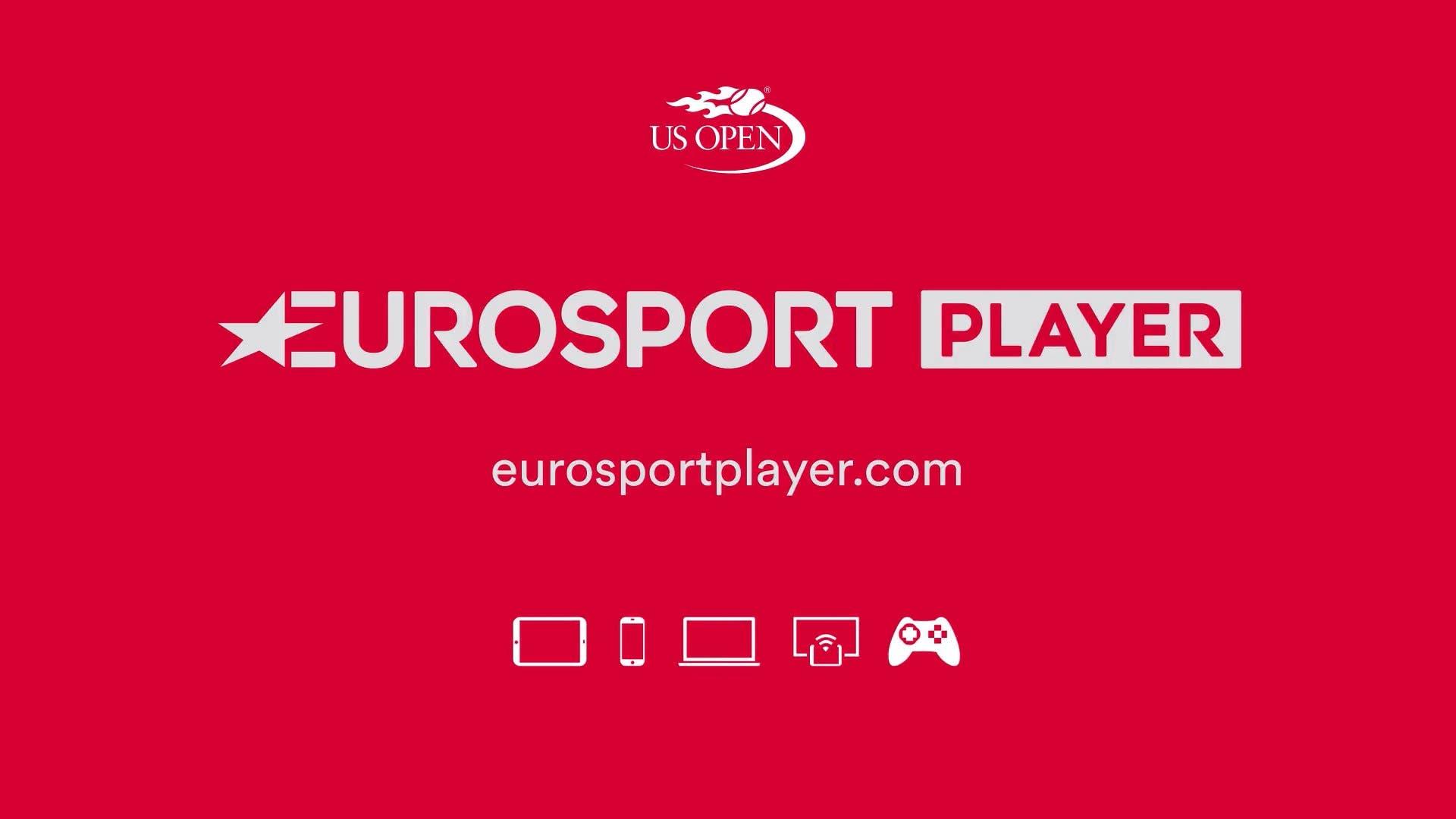 TV e Rete: tutti i match di 12 campi degli US Open su Eurosport Player