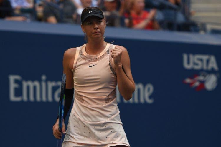 US Open: bene Masha, Venus e Muguruza. Subito out Wozniacki