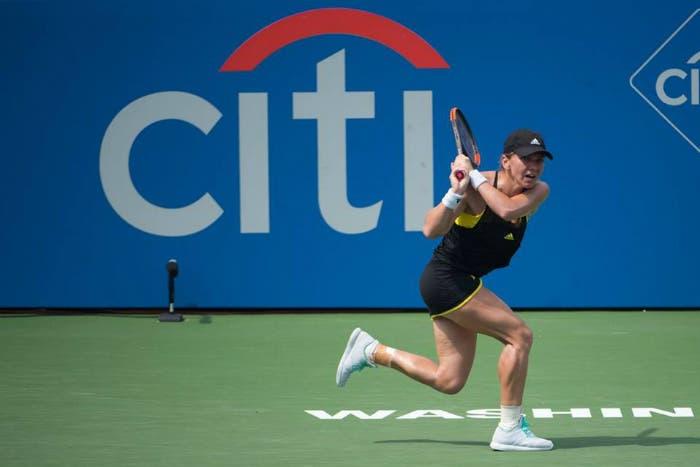 WTA Washington: il caldo piega Halep. Fine della favola Andreescu