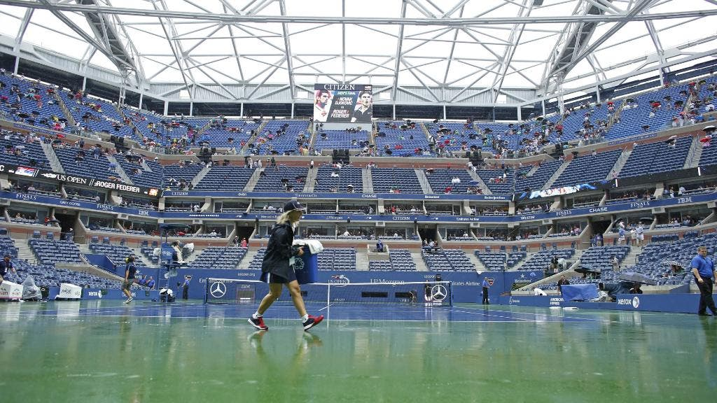US Open, troppa pioggia. Cancellati tutti i match extra-centrale