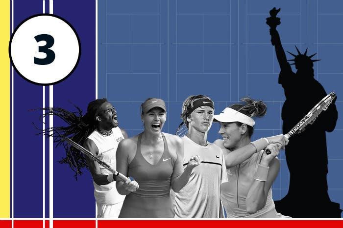 US Open day 3: la grande abbuffata, 87 match! Occhio a Sharapova