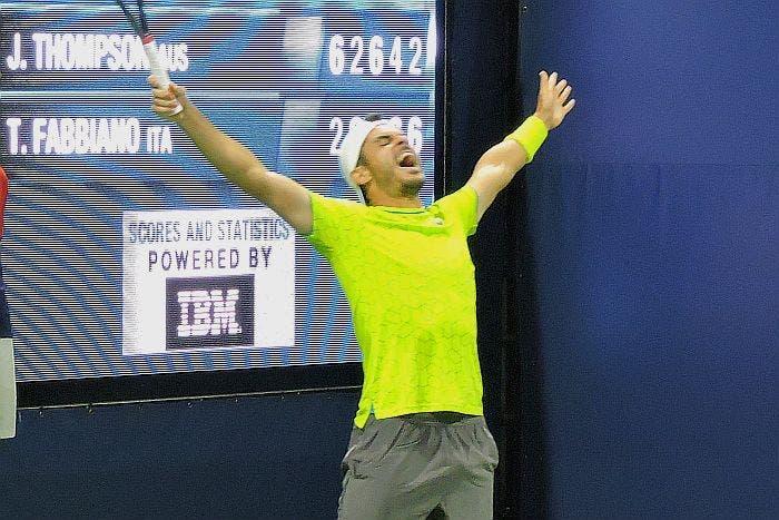 US Open: Fabbiano e Lorenzi super, Travaglia elimina Fognini [AUDIO]