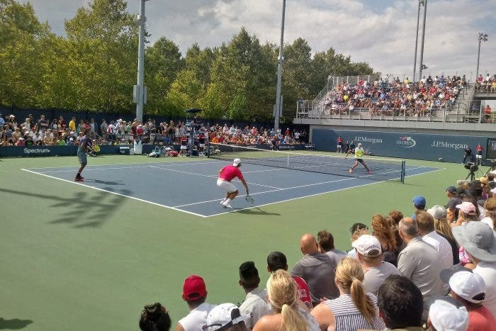 US Open: show di Kyrgios in doppio