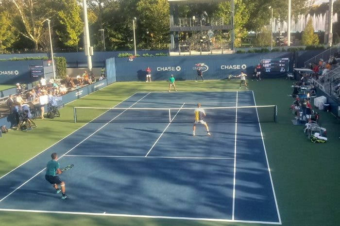 US Open: partiti i doppi, bene gli italiani